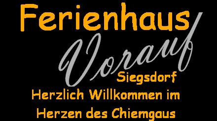 Ferienhaus Vorauf - Familienurlaub in Siegsdorf (Chiemgau) - Ferienwohnung Ferienhaus Ferienpark Vorauf, Vorauf, Siegsdorf, Chiemgau, Oberbayern, Bayern, Deutschland Ferienwohnungen, Ferienhäuser